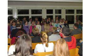 Nastop blejskih učencev