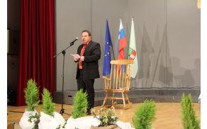 Uvodni nagovor vojniškega župana Braneta Petreta