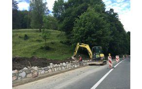 V Blagovici so investicijsko vzdrževalna dela obsegala zamenjavo vodovodne cevi v dolžini 218 metrov.