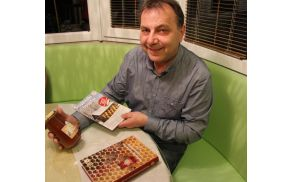Peter Babnik, predsednik Čebelarskega društva Vojnik