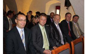 Zaključne slovesnosti na Bledu se je udeležil tudi župan Občine Preddvor Miran Zadnikar