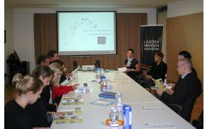 Obisk predstavnikov Evropske komisije na Ljudski univerzi Ajdovščina