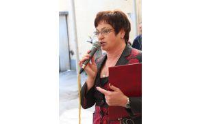 Predsednica MDDI Celje, Dragica Mirnik Amon na srečanju invalidiv v Celju