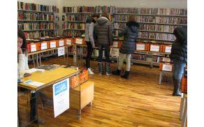 Letos je Kobariški knjižni sejem potekal v prostorih knjižnice Kobarid. Foto: Katja Ozebek