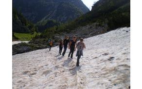 Planinski tabor mladinskega odseka PD Valentin Stanič. Foto: PD Valentin Stanič