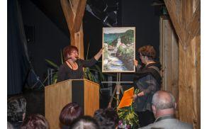 Gostovanje tržiških ustvarjalcev v avstrijskem Šentjanžu v Rožu (2015).