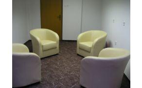 Terapevska soba na Družinskem inštitutu Zaupanje