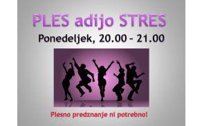 Pleš odženi stres