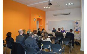 Na tiskovni konferenci so izvajalci predstavili rezultate projekta.