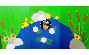 O zeleni žabici Emi, ki ni marala vode - Pravljičarna