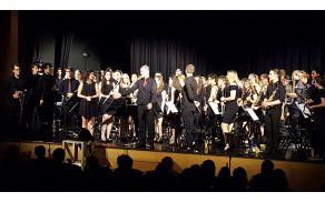 Pihalni orkester OrkesterkamP v Kobaridu. Foto: Nataša Hvala Ivančič