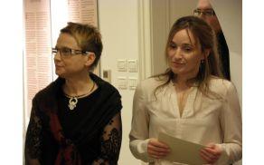 Avtorici razstave: Simona Šuler Pandev in Simona Vončina