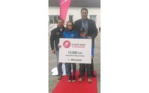 SD Vizore je prejelo 15.000 evrov nagrade.