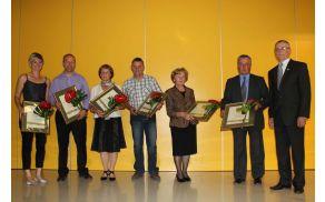 Lanski prejemniki občinskih priznanj (novi bodo priznanja in nazive prejeli 30. maja).
