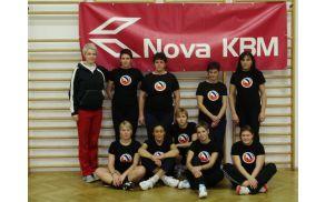 Dekleta iz Športnega društva Soča. Foto: ŠD Soča