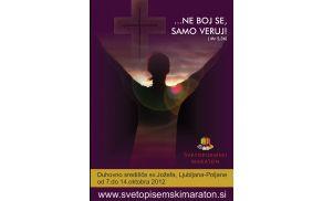 Plakat Svetopisemski maraton Lenart.