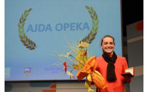 Ajda Opeka, športnica Vrhnike 2015
