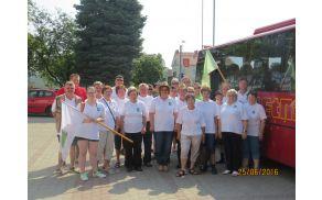 Udeleženci Občine Vojnik na 16. srečanju Gradišč Slovenije
