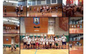 Utrinki s košarkarskega tabora 2015