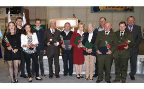 Prejemniki priznanj Občine Vransko za leto 2015