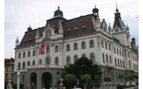 Univerza v Ljubljani išče rektorja. (foto: AndrejJ, Wikipedia).