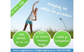 Razgibaj se vadba na prostem