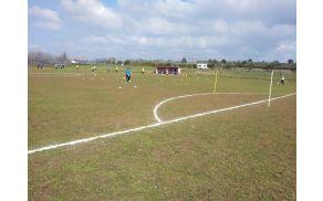Mladi nogometaši na pripravah v Medulinu