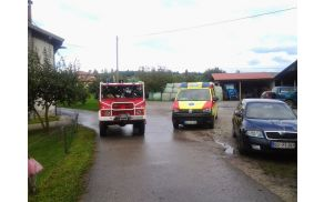 Reševalne službe na varovanju na rallyu. Foto: Samo Šuligoj