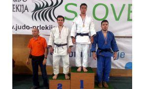 Tadej Mulec - državni prvak 2014 do 81 kg med mlajšimi člani (foto : Milan Danko)