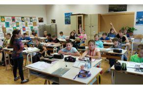 Petošolka, učiteljica za en dan