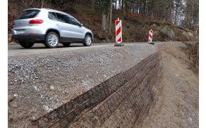 Za tekoče vzdrževanje cest je šlo kar 95 tisoč evrov več od načrtovanega.