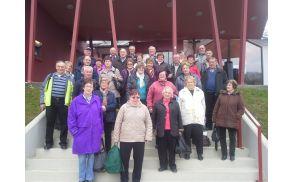 Kopalni dan z izletom članov Aktiva invalidov Podgorje