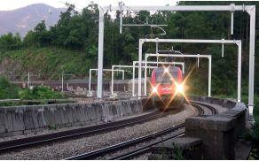 Prva električna lokomotiva na železnici Borovnica–Verd po šestnajstih mesecih – Živa 541-005 RTM.