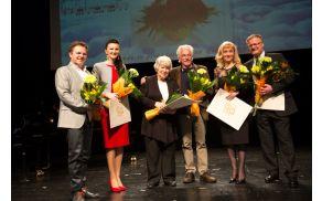 Prejemniki nagrad in priznanj Frana Gerbiča (Foto: Valter Leban)