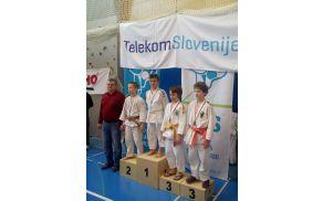 Državni prvak U12 -38 kg Filip Kokol
