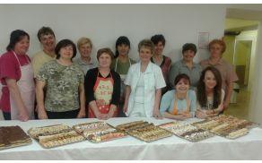 Udeleženke tečaja peke drobnega peciva
