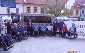 nov kombi Društva paraplegikov Koroške