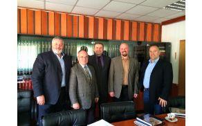 Župani občin Domžale, Moravče, Lukovica, Trzin in Mengeš so se zbrali na prvem skupnem delovnem srečanju v novem mandatu.