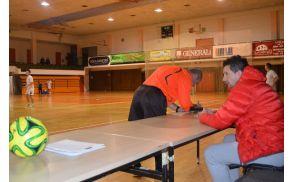 Tekme v litijski športni dvorani