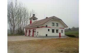 Nov izgled gasilskega doma Mokronog