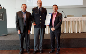 Listino je v imenu Policijske postaje Bovec prevzel komandir Damjan Žagar.