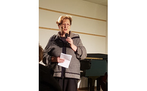 Program je povezovala Živa Gruden. Foto: Nataša Hvala Ivančič