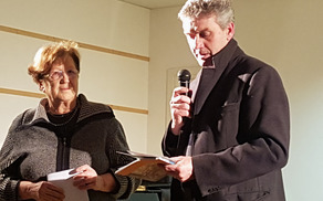 Zbrane je pozdravil župan Občine Špeter Mariano Zufferli. Foto: Nataša Hvala Ivančič