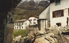 Jutri mineva 20 let od velikonočnega potresa. Foto: arhiv Občine Kobarid