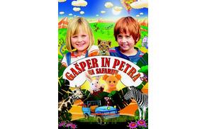 Gašper in Petra na safariju
