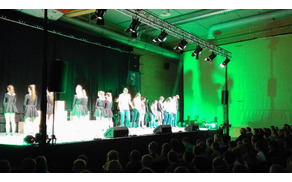 Petje, ples, gibanje in igra barv – Musical 13 (foto: Lidija Eler Jazbinšek)