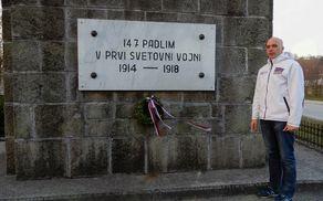 Marko Zdovc je našel podatke o ljudeh, ki so življenje izgubili v prvi svetovni vojni.