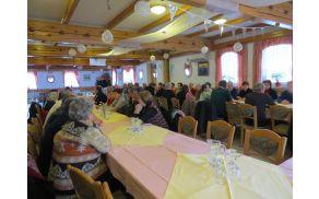 Udeleženci delnega zbora članov Aktiva invalidov Podgorje