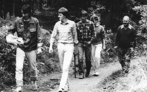 Določanje Levstikove poti leta 1988