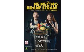 Slovenska premiera filma Ne meč'mo hrane stran! (Just Eat It)